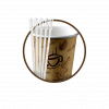 Cups and stirrers (4)
